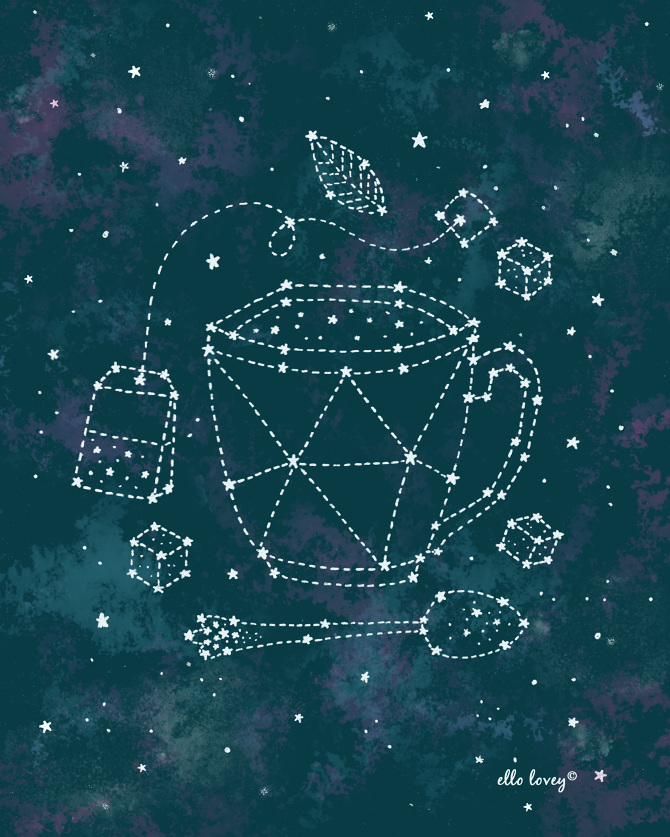 Constellations  Letters